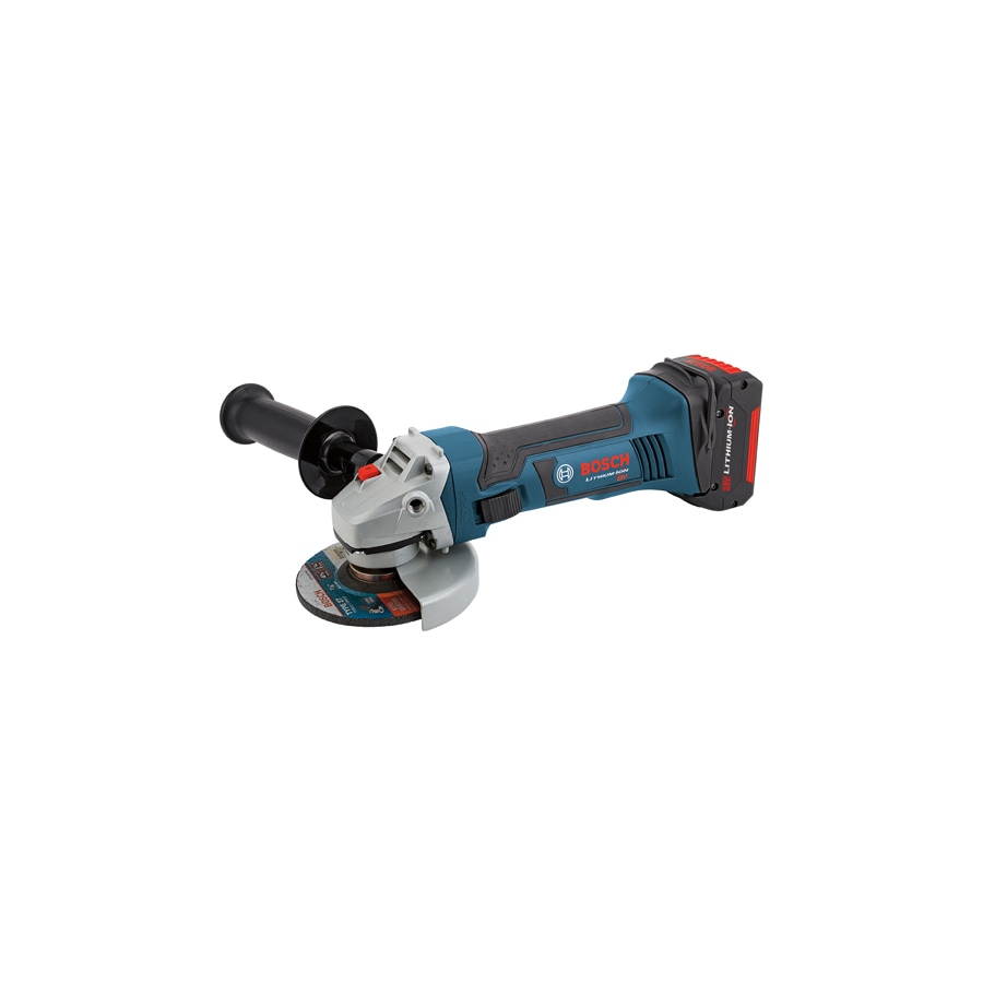 Bosch 4.5-in 18-Volt-Volt Cordless Angle Grinder ((2-Batteries Included))