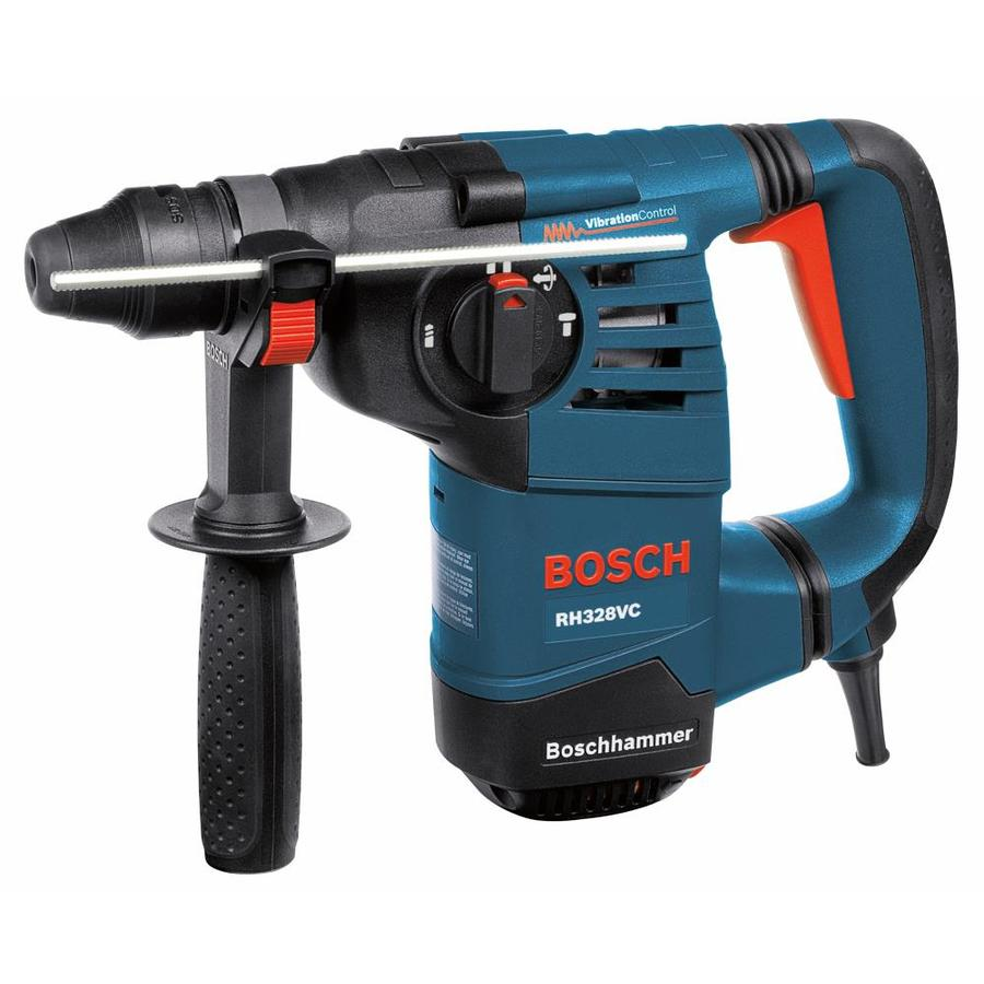 shop bosch 1 1 8 in sds plus 8 amp keyless rotary hammer. Black Bedroom Furniture Sets. Home Design Ideas