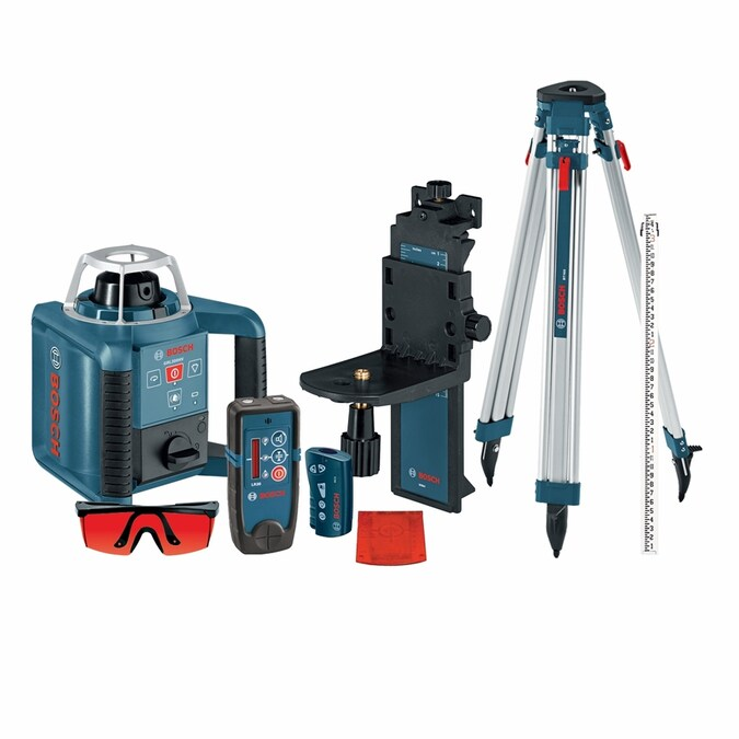 Bosch 1000 Ft Self Leveling Rotary 360 Laser Level In The Laser Levels Department At Lowes Com