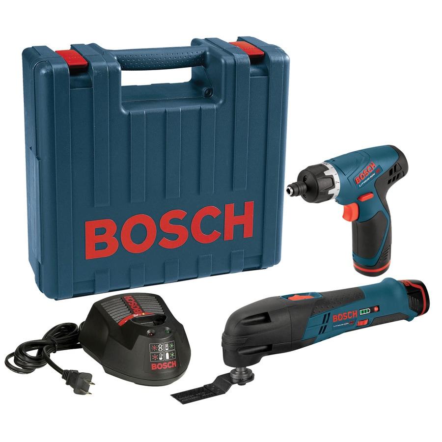 Bosch 12-Volt Oscillating Tool Kit