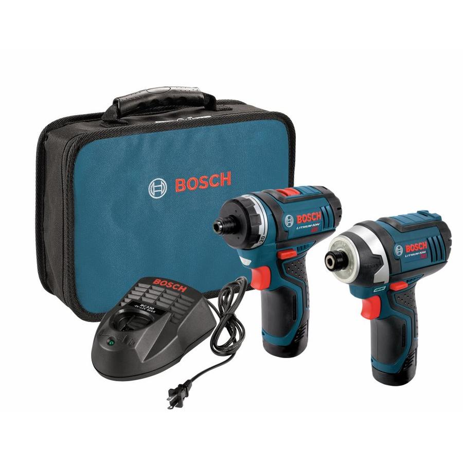 Bosch 2-Tool 12-Volt Max Cordless Combo Kit with Case