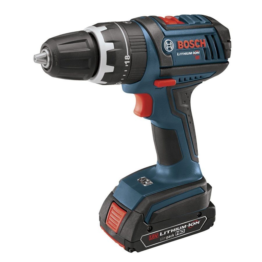 Bosch 1/2-in 18-Volt Lithium Ion (Li-ion) Variable Speed Cordless Hammer Drill