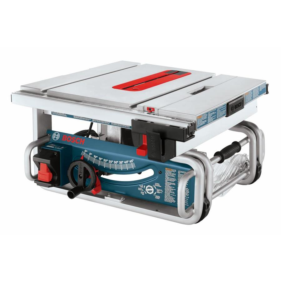 Shop bosch 15 amp 10 in carbide tipped table saw at for 10 dado blade for table saw
