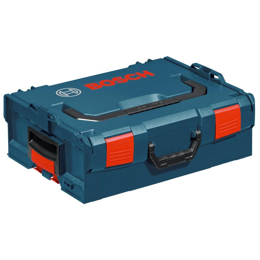 Bosch 17.25-in Blue Plastic Lockable Tool Box
