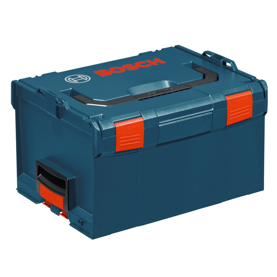 Bosch 17.25-in Blue Plastic Lockable Tool Box