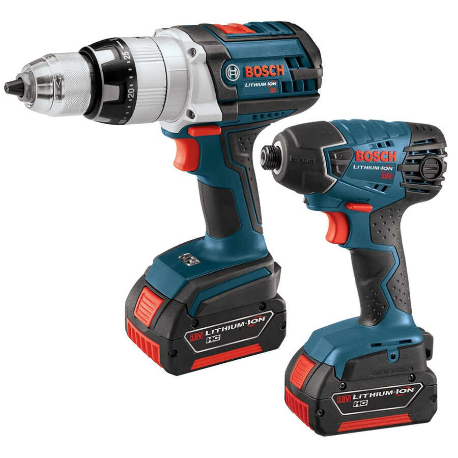 Bosch 2-Tool 18-Volt Cordless Combo Kit with Case