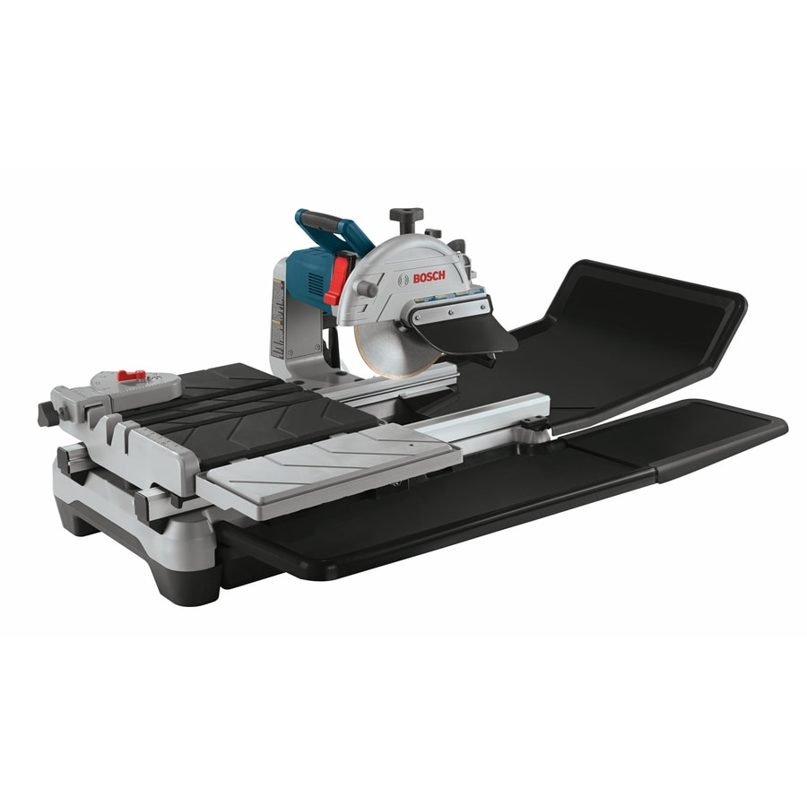 Bosch 10-in 1.4-HP Wet Bridge Sliding Table Tile Saw