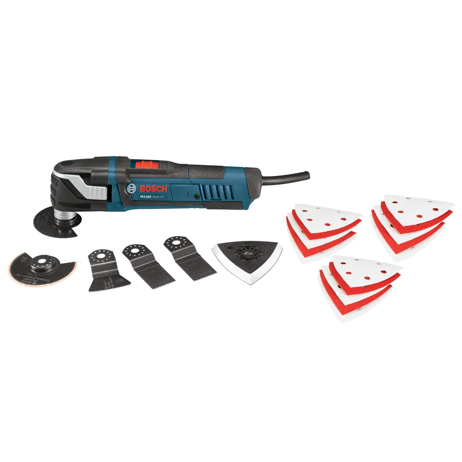 Bosch 21-Piece 3-Amp Oscillating Tool Kit At Lowes.com