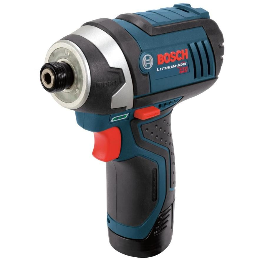 Bosch 12-Volt 1/4-in Cordless Variable Speed Impact Driver with Soft Case