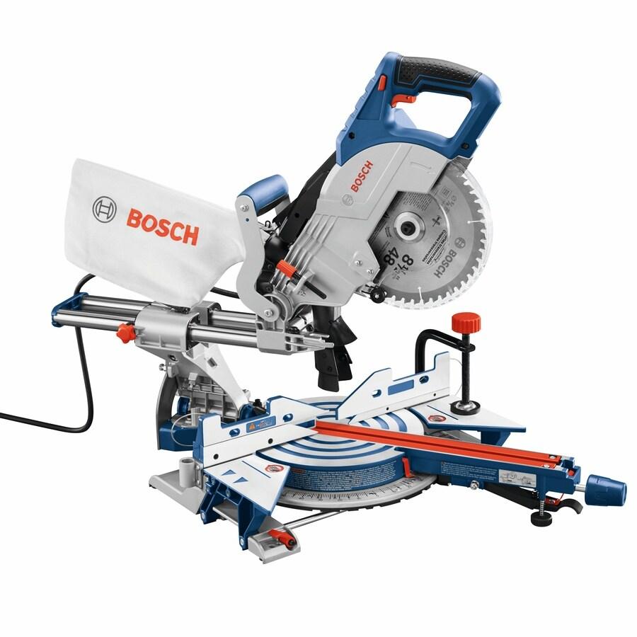Bosch 8.5-in 12-Amp Bevel Sliding Compound Miter Saw