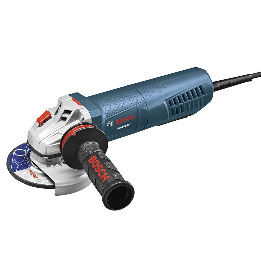 Bosch 6-in 12.5-Amp Paddle Switch Corded Angle Grinder