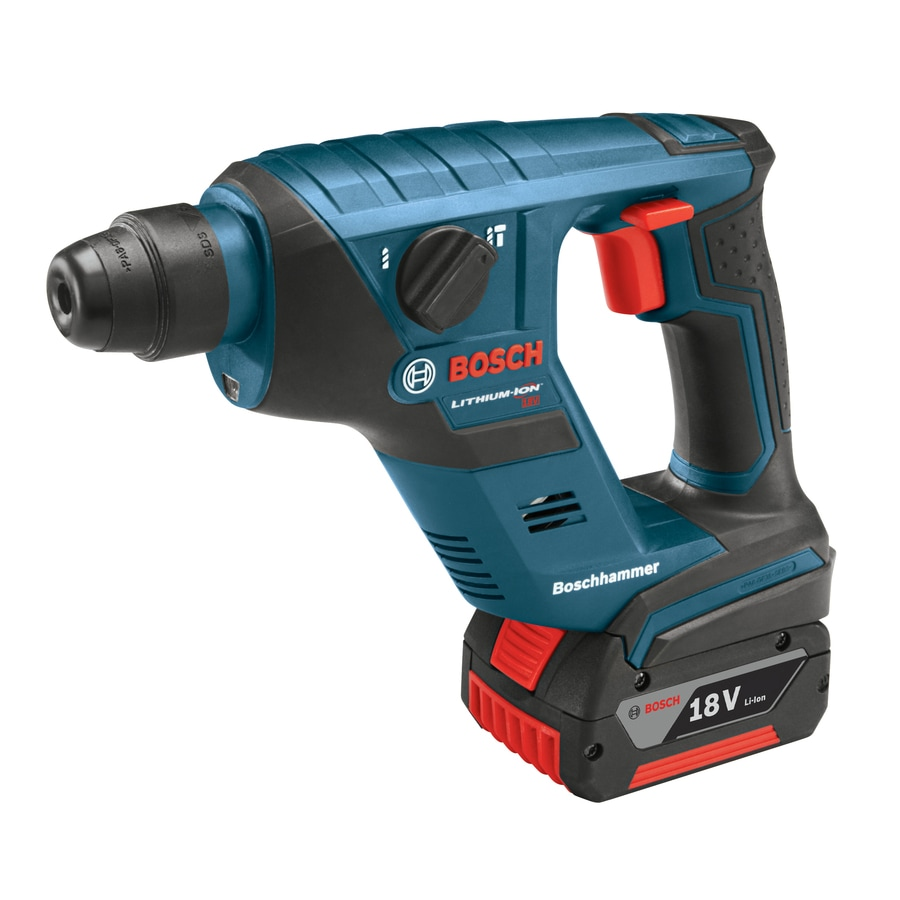 Bosch 18-Volt Lithium Ion 1/2-in SDS-Plus Cordless Rotary Hammer with Hard Case