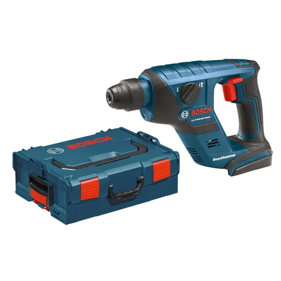 Bosch (Bare Tool) 18-Volt 1/2-in SDS-Plus Variable Speed Cordless Rotary Hammer with Hard Case