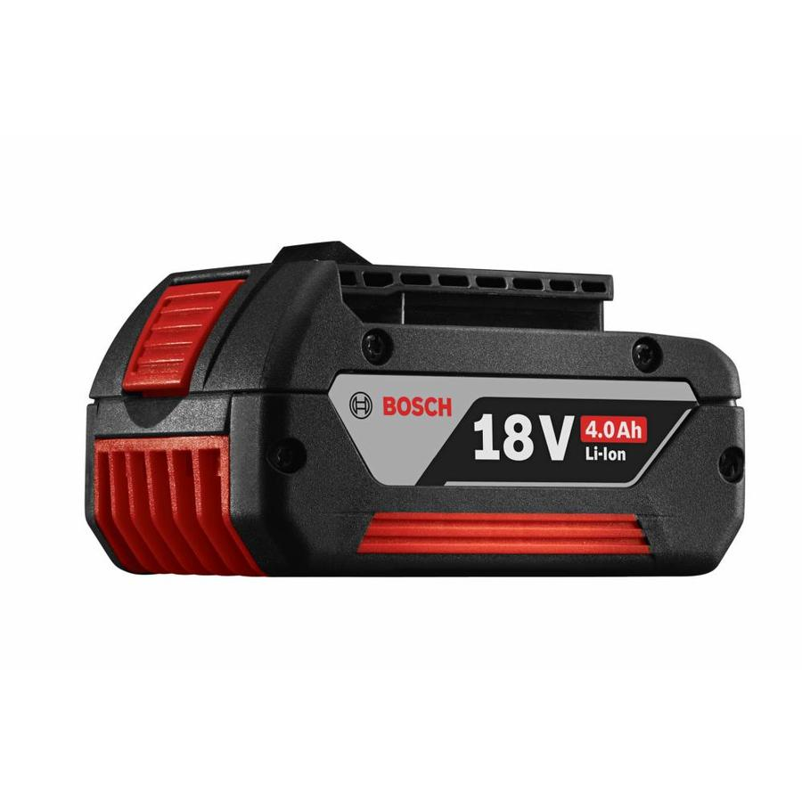 shop bosch 18 volt 4 amp hours lithium power tool battery at. Black Bedroom Furniture Sets. Home Design Ideas