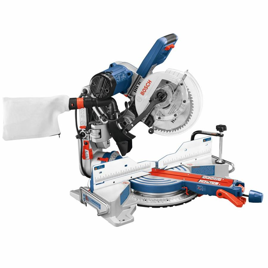 Shop miter saws at lowes bosch 10 in 15 amp sliding compound miter saw keyboard keysfo Image collections
