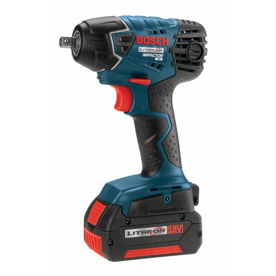 Bosch 18 Volt 3 8 In Square Drive Cordless Impact Wrench 2 Batteries Included