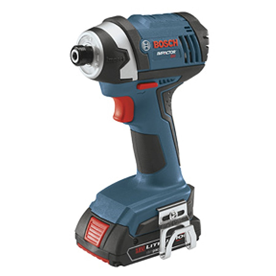 Bosch 2-Battery 18-Volt 1/4-in Drive Cordless Impact Driver