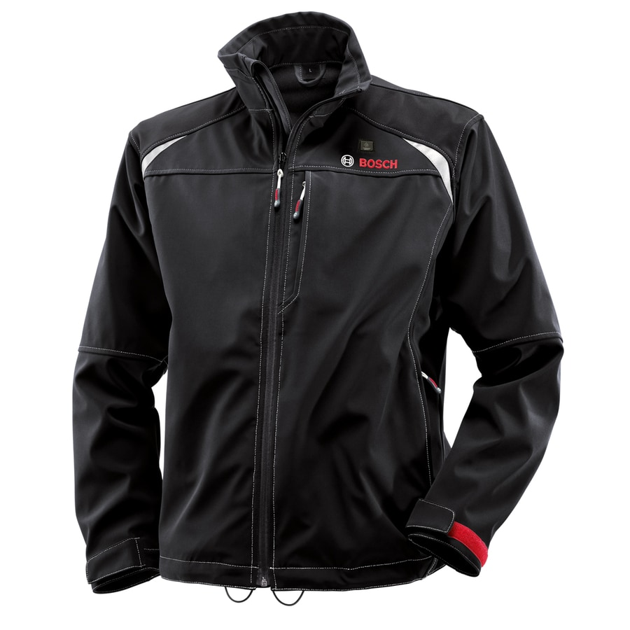 Bosch Small Black Lithium Ion Heated Jacket