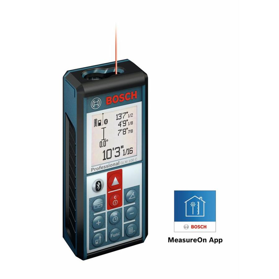 Shop measuring tools at lowes bosch 330 ft indoor laser distance measurer greentooth Images