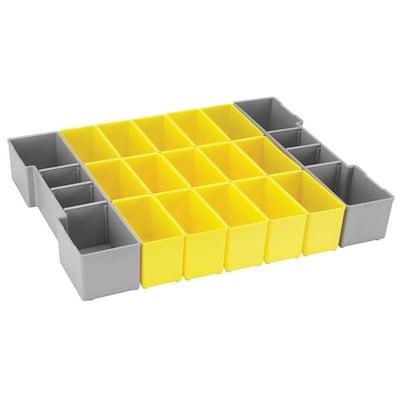 Bosch 17-Compartment Plastic Small Parts Organizer