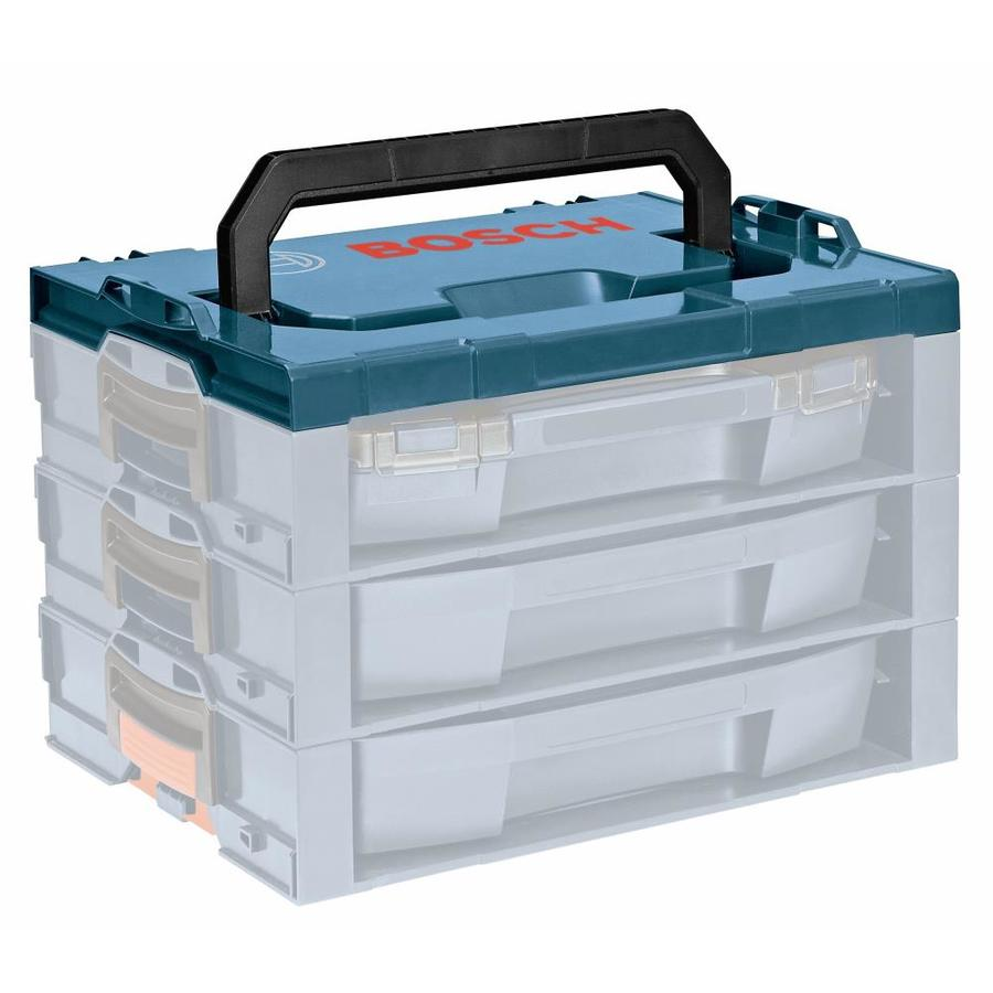 Bosch 17.25-in Blue Plastic Tool Box