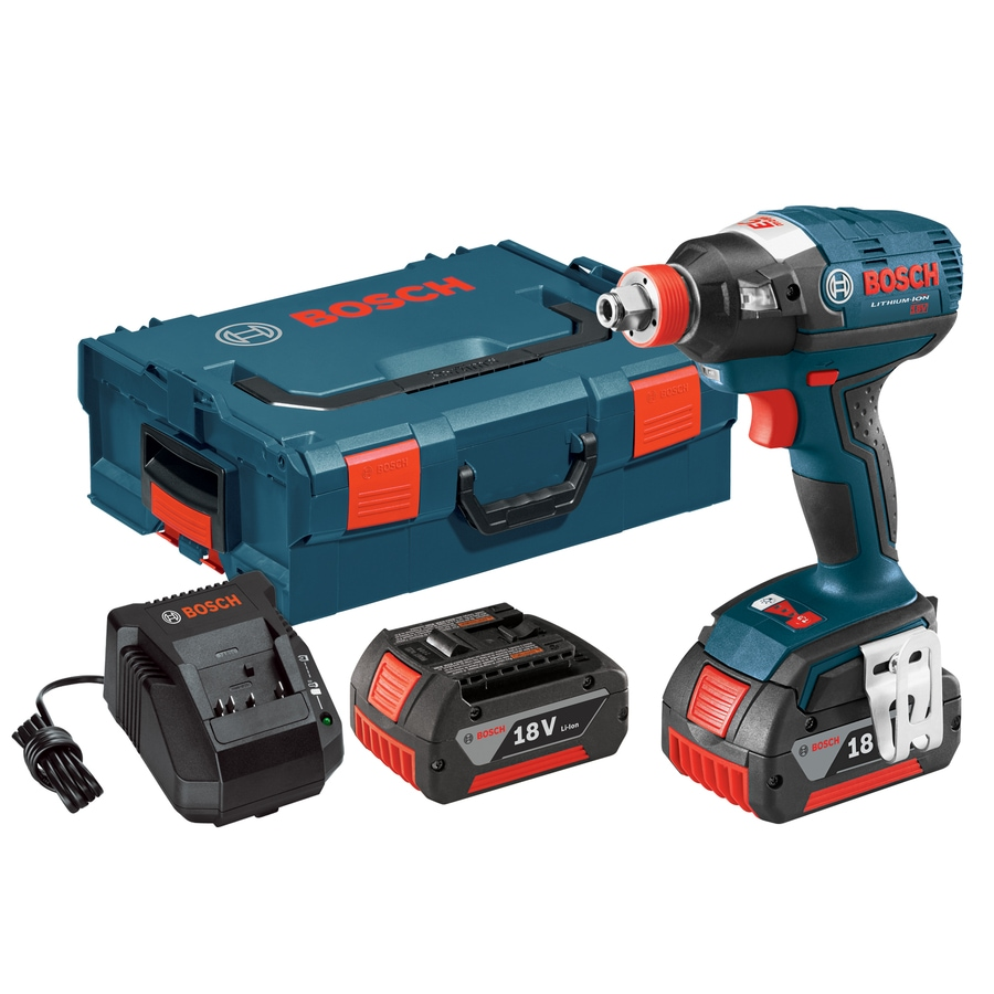 Bosch Brushless 18-Volt Lithium Ion (Li-ion) 1/2-in Cordless Variable Speed Brushless Impact Driver with Hard Case