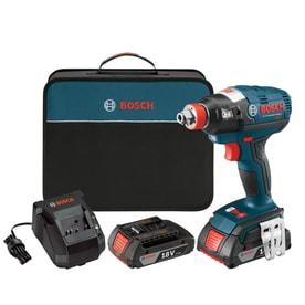 Bosch IDH182-02 18-Volt Brushless 1/4u0022 & 1/2u0022 Socket-ready Impact Driver Kit