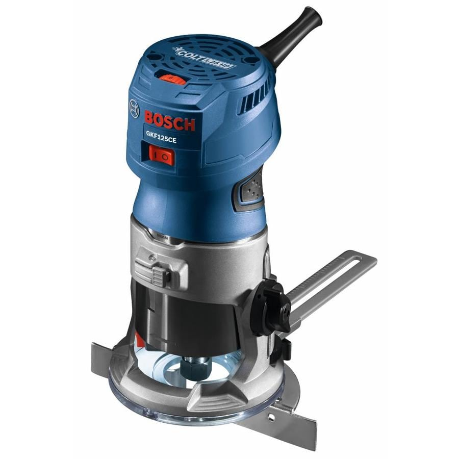 Shop routers at lowes bosch colt 125 hp variable speed fixed corded router greentooth Gallery