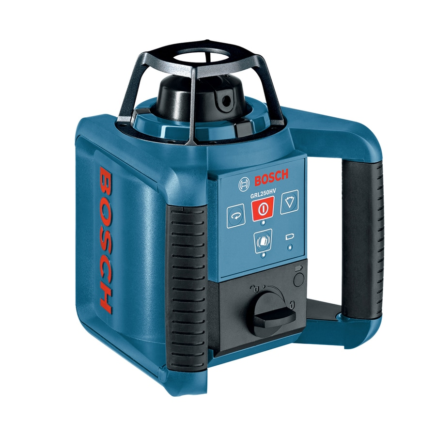 bosch 1000-ft beam self-leveling rotary laser level at lowes