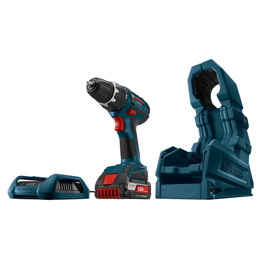 Bosch 18-volt Wireless Charging Starter Kit With Free Drill