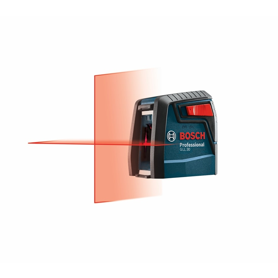 Shop Laser Levels At Bosch Gll 3 15 Level Mini 30 Ft Chalkline Self Leveling Cross Line With Plumb