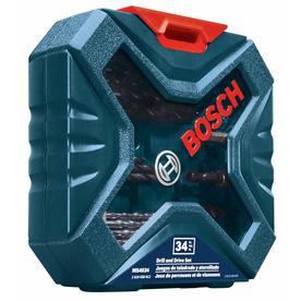 Bosch MS4034 34-Piece Drill/Drive Mixed Set