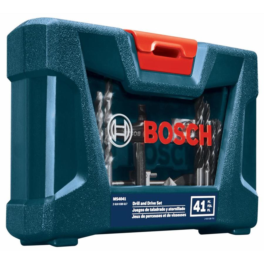 Bosch Drilling And Driving Mixed Bit Set 41 Piece High