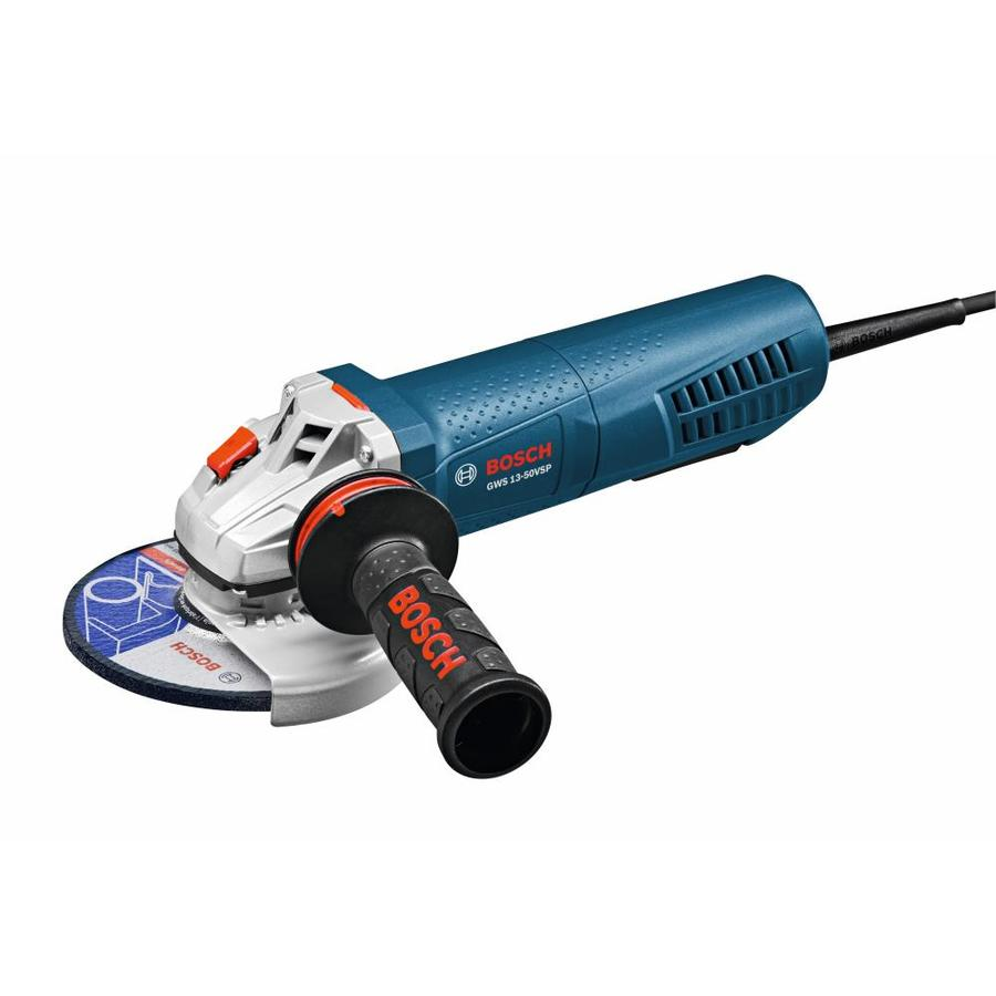Bosch 5-in 13-Amp Paddle Switch Corded Angle Grinder