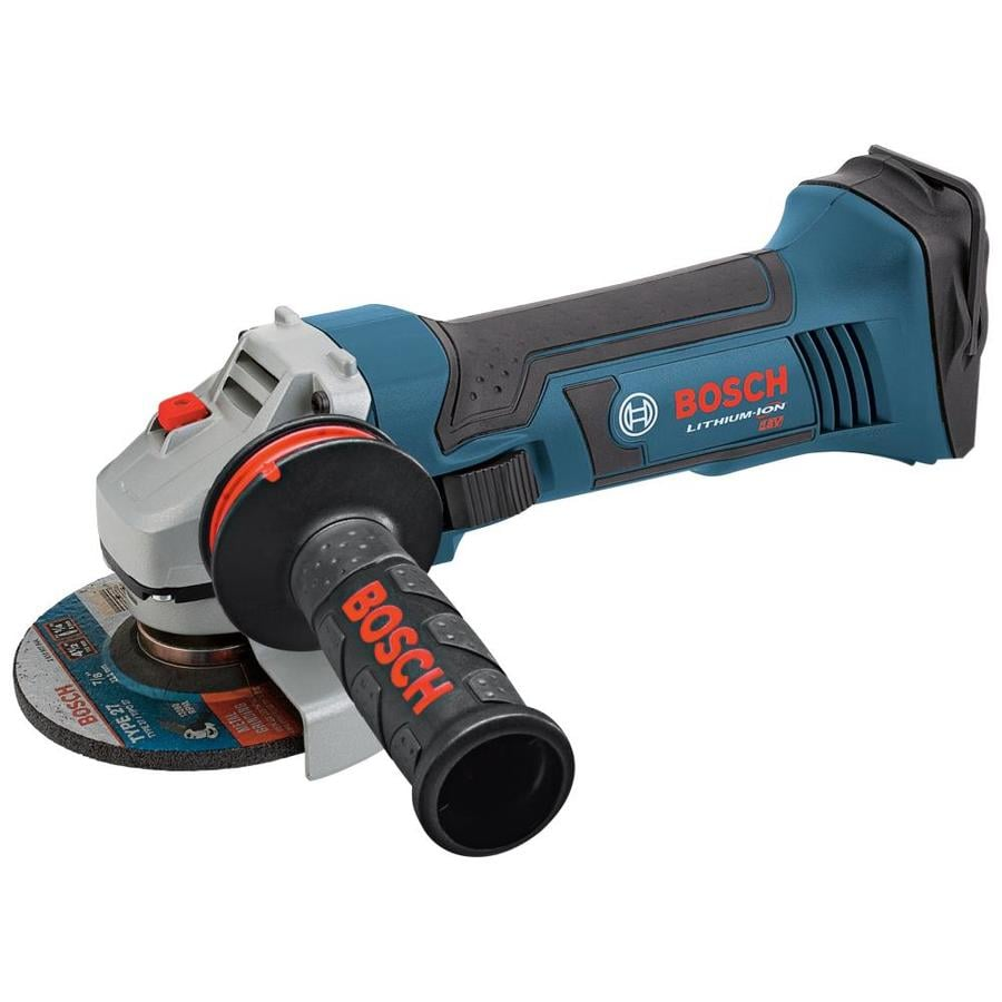 bosch 4 5 in 18 volt cordless angle grinder battery not included at. Black Bedroom Furniture Sets. Home Design Ideas