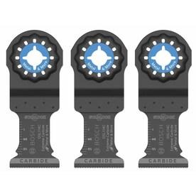 Bosch Starlock 3-Pack Carbide Oscillating Tool Blade