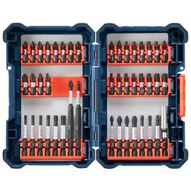 Bosch Custom Case 44-Piece 1/4-in Impact Driver Bit Set