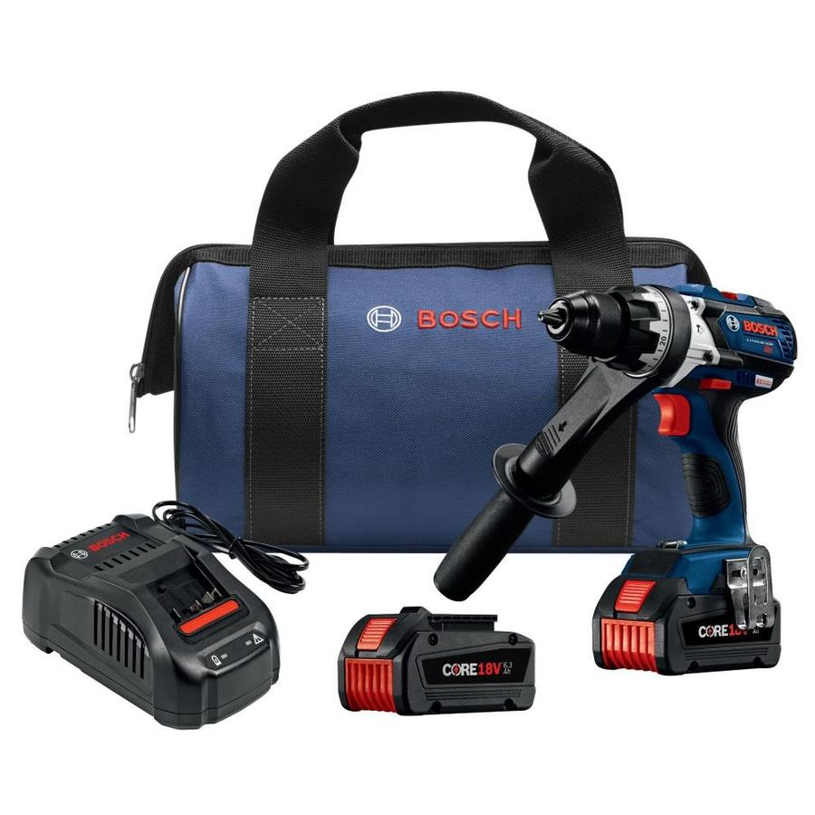 Bosch 1/2-in 18-Volt Lithium Ion Variable Speed Brushless Cordless Hammer Drill