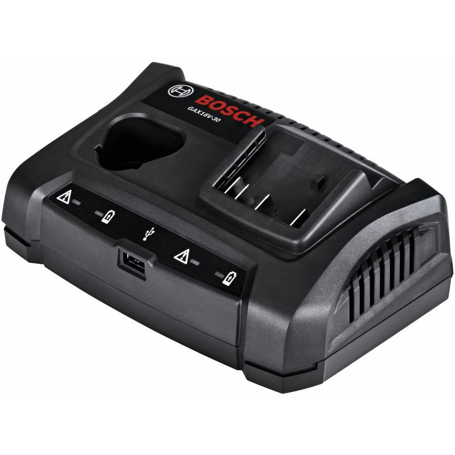 Bosch 12-Volt and 18-Volt Power Tool Battery Charger