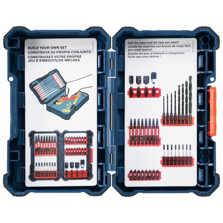 Bosch 4.1-in Blue Plastic Tool Box