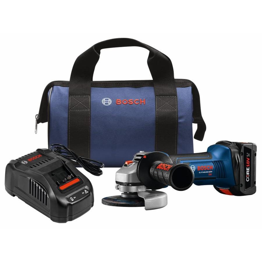 Bosch 4.5-in 18-Volt Cordless Angle Grinder (1 Battery Included)
