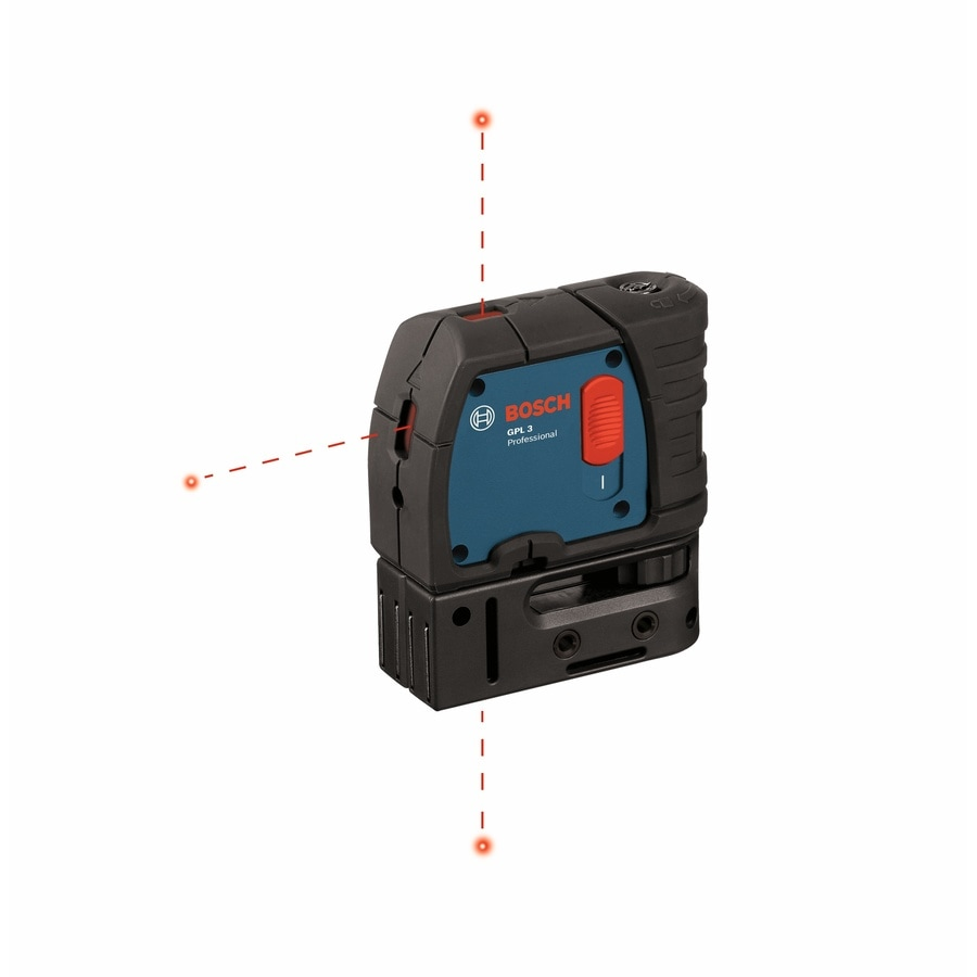 bosch 3-point 3-point 100-ft beam self-leveling laser level with