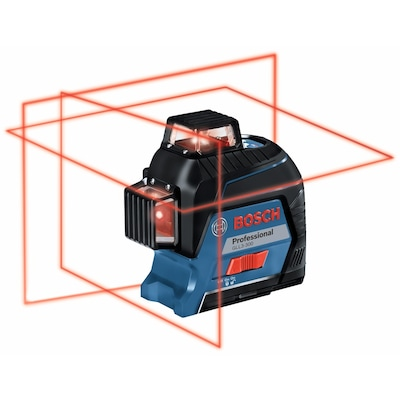 Bosch VisiMax 200-ft Red Beam Self-Leveling Line Generator