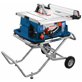 Bosch 4100 10 In Carbide Tipped 15 Amp Table Saw