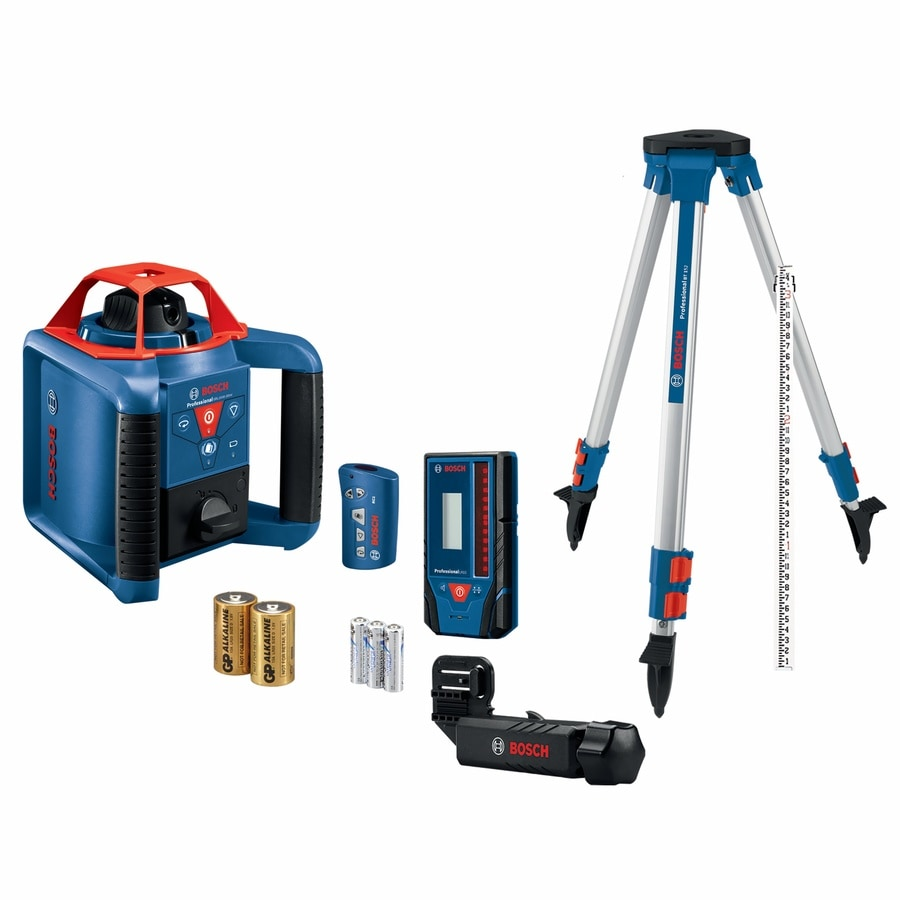 Bosch 1000 Ft Red Beam Self Leveling Rotary Laser Level