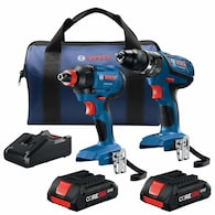 Deals on Bosch 2-Tool Core18v Power Tool Combo Kit with Soft Case