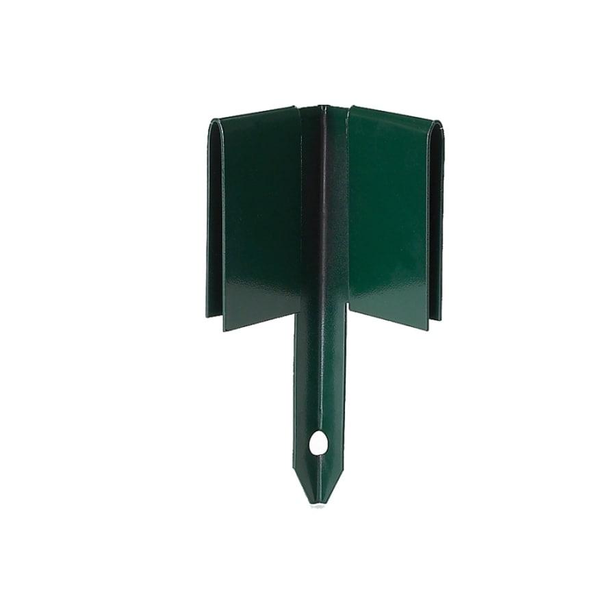 COL-MET 8-in Green Steel Corner Edging Stake