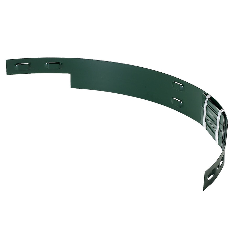 COL-MET 3-ft Green Powder Coat Tree Ring Section
