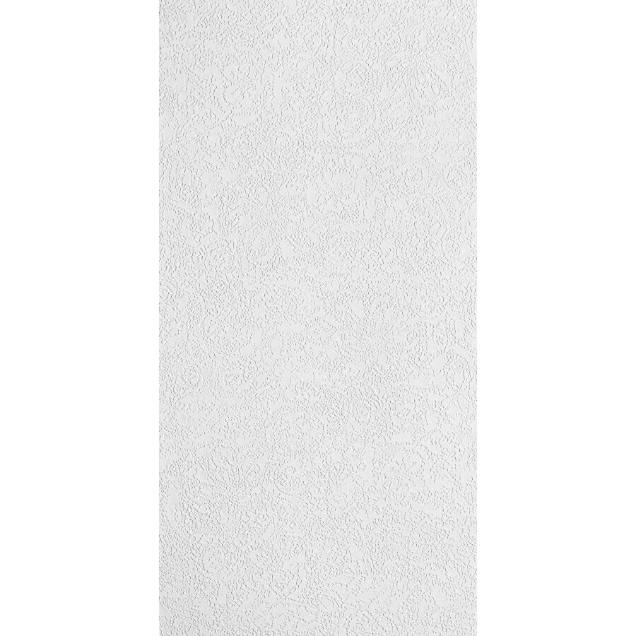 Armstrong Ceilings (Common: 48-in x 24-in; Actual: 47.625-in x 23.625-in) Esprit Fiberglass Contractor 16-Pack White Textured 15/16-in Drop Acoustic Panel Ceiling Tiles