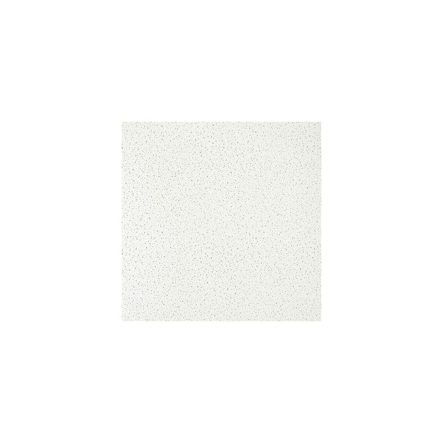 Armstrong Ceilings (Common: 24-in x 24-in; Actual: 23.719-in x 23.719-in) Fine Fissured 16-Pack Haze Fissured 15/16-in Drop Acoustic Panel Ceiling Tiles